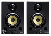 Hercules DJ Monitor 5 - DJ monitors - Set van 2 - Zwart