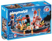 Playmobil Stoomboot van Sinterklaas en Zwarte Piet - 5206