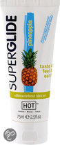 Hot Superglide Pineapple - 75 ml - Glijmiddel