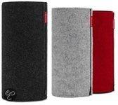 Libratone Zipp Classic Collection - Draadloze speaker inclusief drie hoezen in de kleuren Zwart/Rood/ Grijs