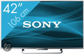 Sony Bravia KDL-42W656 - Led-tv - 42 inch - Full HD - Smart tv - Zilver