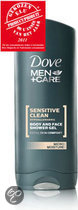 Dove Men+Care Shower Sensitive Clean - 400 ml - Douchegel