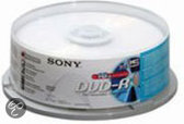 Sony DVD-R 120min/4,7GB 16x 25 stuks op spindel