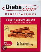 Diebacinn OTC Kaneelcapsules