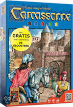 Spel Carcassonne + mini uitbreiding Kloosters - Bordspel