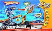 Hot Wheels Cyborg Blaster Stunt Set