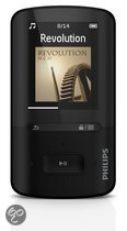 Philips GoGear Vibe - MP4 speler - 8 GB - Zwart