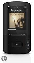 Philips GoGear Vibe - MP4 speler - 8 GB - Zwart