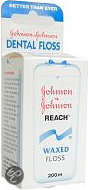 Johnson & Johnson Reach Dental Waxed Floss - 200 m - Flosdraad