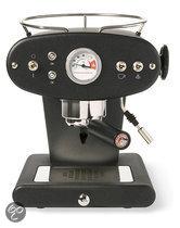 illy X1 Ground Handmatige Espressomachine - Zwart  (voor gemalen koffie)