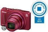 Nikon COOLPIX S9700 - Rood