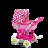 Smoby Minnie poppenwagen de luxe Bow-Tique