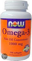 VitOrtho Now Omega-3 1000 mg tabletten 100 st