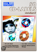 50 CD-Labels, Standaard (Papier)