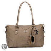 Little Company - Black Label Totem Tote Bag Luiertas - Taupe