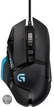 Logitech G502 Proteus Core Wired Tunable Gaming Muis - Zwart (PC)