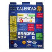 Alles over vandaag kalender blauw