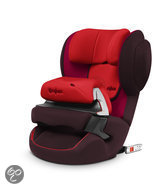 Cybex Juno 2-Fix - Autostoel - Strawberry - dark red