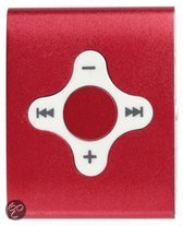 Difrnce MP755 - MP3 speler - 4 GB - Rood
