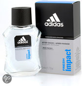 Adidas Fresh Impact for Men - 50 ml - Aftershave lotion