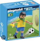 Playmobil Voetbalspeler Brazilië - 4799