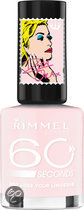 Rimmel London 60 Seconds Colour Rush by Rita Ora - 203 Ice Pink - Nagellak