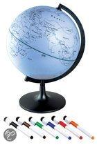 Globe - zelf in te kleuren