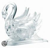Crystal 3D Puzzel - Zwaan