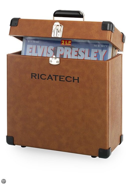 RC0042 Record Carrier Case Brown
