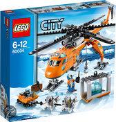 LEGO City Arctic Helikopterkraan - 60034