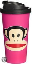 Paul Frank Drinkbeker - To Go - Incl Deksel - 500 ml - Roze