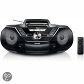 Philips AZ787 Radio/cd-speler - Zwart