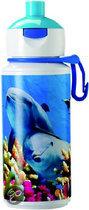 Mepal Pop-Up Animal - Planet Dolfijn - Drinkles