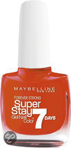 Maybelline SuperStay/Forever Strong - 460 Couture Orange - Oranje - Nagellak