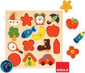 Goula Houten Puzzel - Schaduw - 15 Stukjes