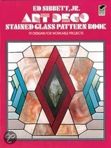 Art Deco Stained Glass Pattern Book