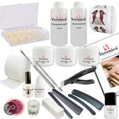 Veronica NAIL-PRODUCTS Kunstnagels Acrylnagels starterspakket, starter set ALL IN, compleet