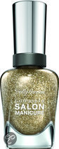 Sally Hansen Complete Salon Manicure - Golden Rule 121 - Goud - Nagellak