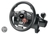 Logitech Driving Force GT Racestuur + Versnellingspook PS3 + PS2