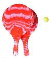Angel toys Beachball set kunststof 8mm rood
