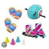Imaginarium Rolling Set pink - Skates met brede wielen en bescherming