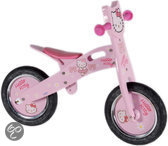 Hello Kitty Loopfiets Hout