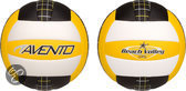 Strand Volleybal • Soft Touch •, Geel/Wit/Zwart, 5