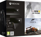 Microsoft Xbox One 500GB Console + 1 Wireless Day One Controller + Kinect 2.0 + FIFA 15 + Dance Central: Spotlight + Forza 5  - Limited Day One Edition - Zwart Xbox One Bundel