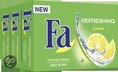 Fa Refreshing Lemon - 3x 100 gr - Zeep