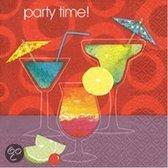 Party Time cocktail servetten 20 stuks