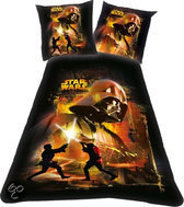 Star wars Dekbed darth vader 140x200 / 65x65 cm