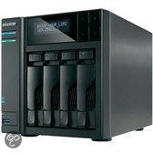 Asustor AS-604T 4-Bay 0TB - NAS Server - HDMI uitgang