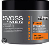 Syoss Men Power Hold Extreme Paste - Gel