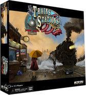 Trains and Stations Strategy Game